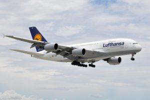 Lufthansa Flex Open Return Ticket mit A380